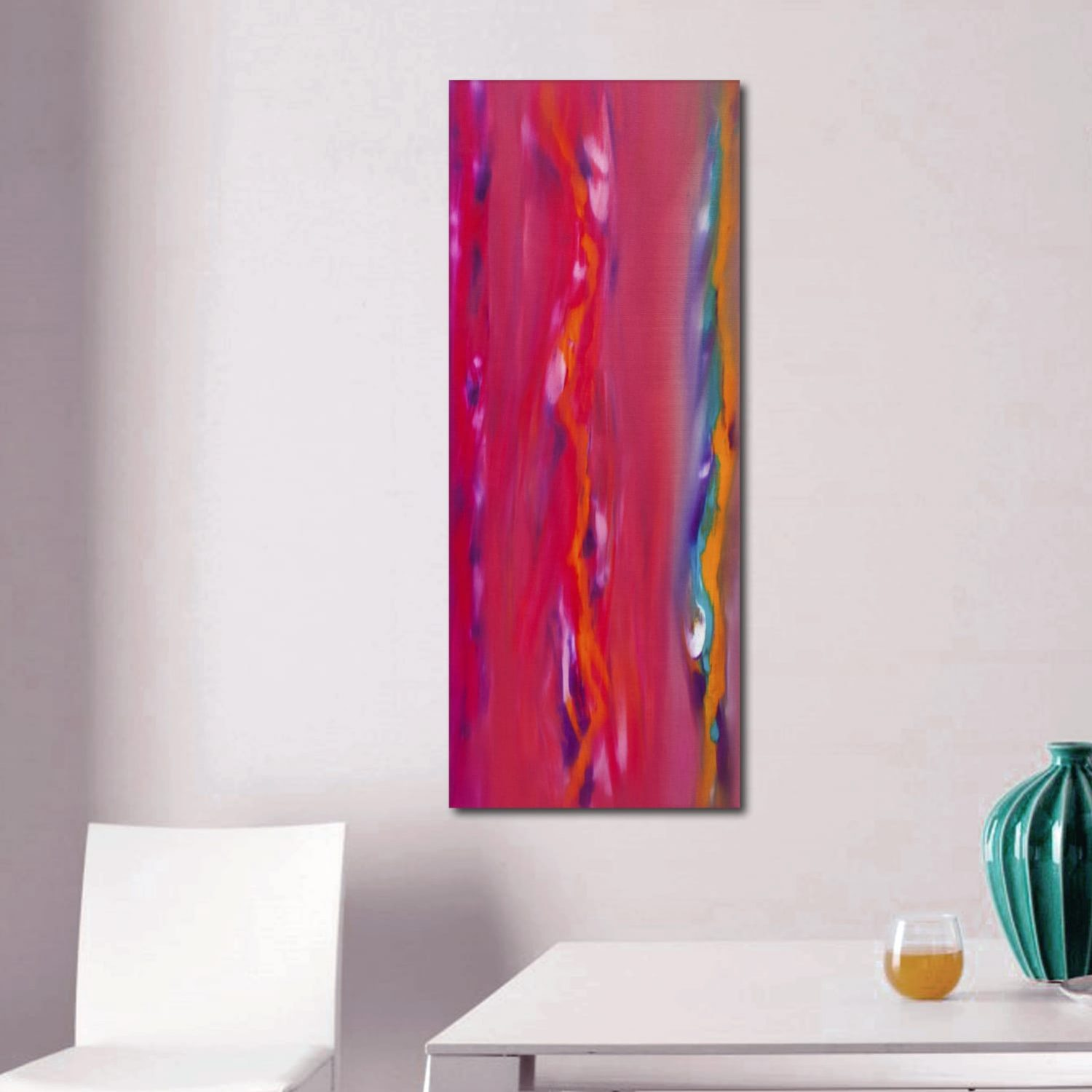 Sunset anomaly II 100x40 quadro astratto in vendita online