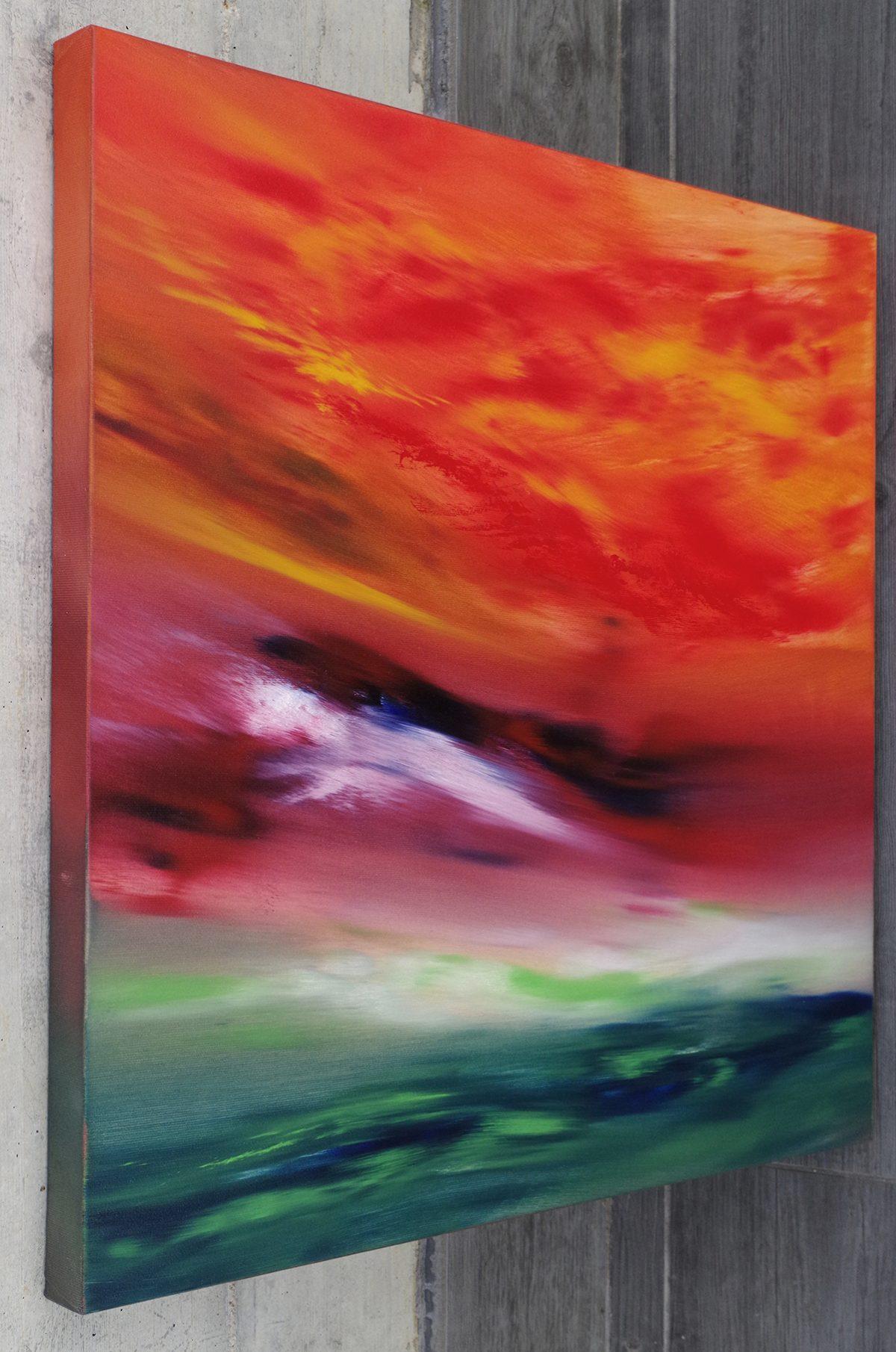 sky element II quadro astratto