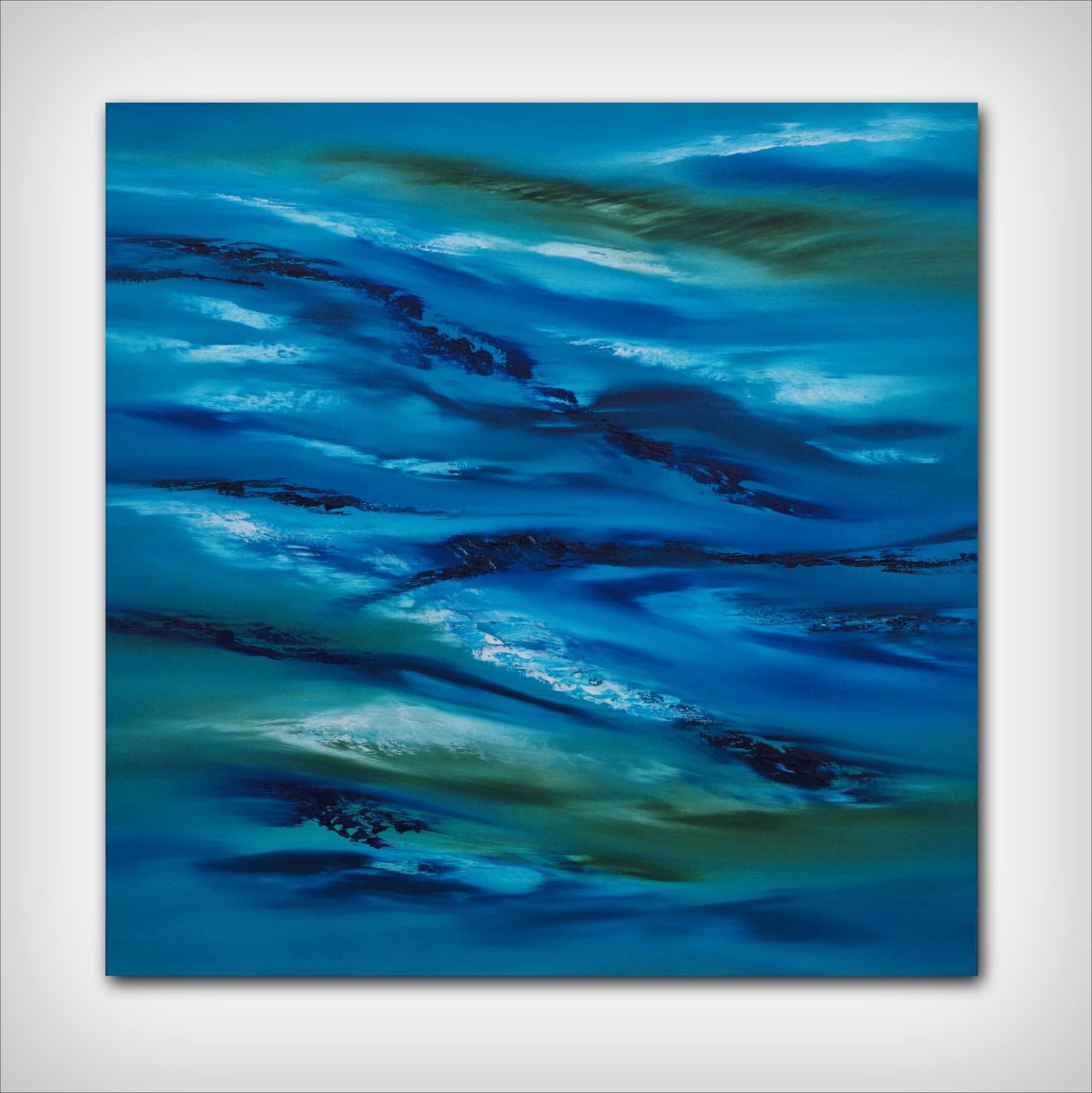 Sky element III dipinto originale in vendita online, 60×60