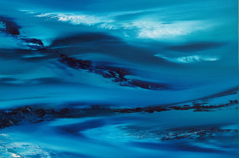 Sky element III dipinto originale in vendita online, 60x60