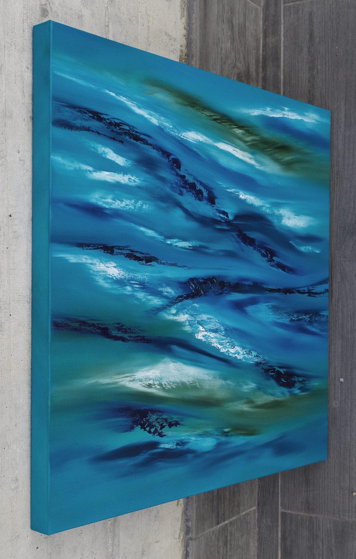 sky element III quadro astratto