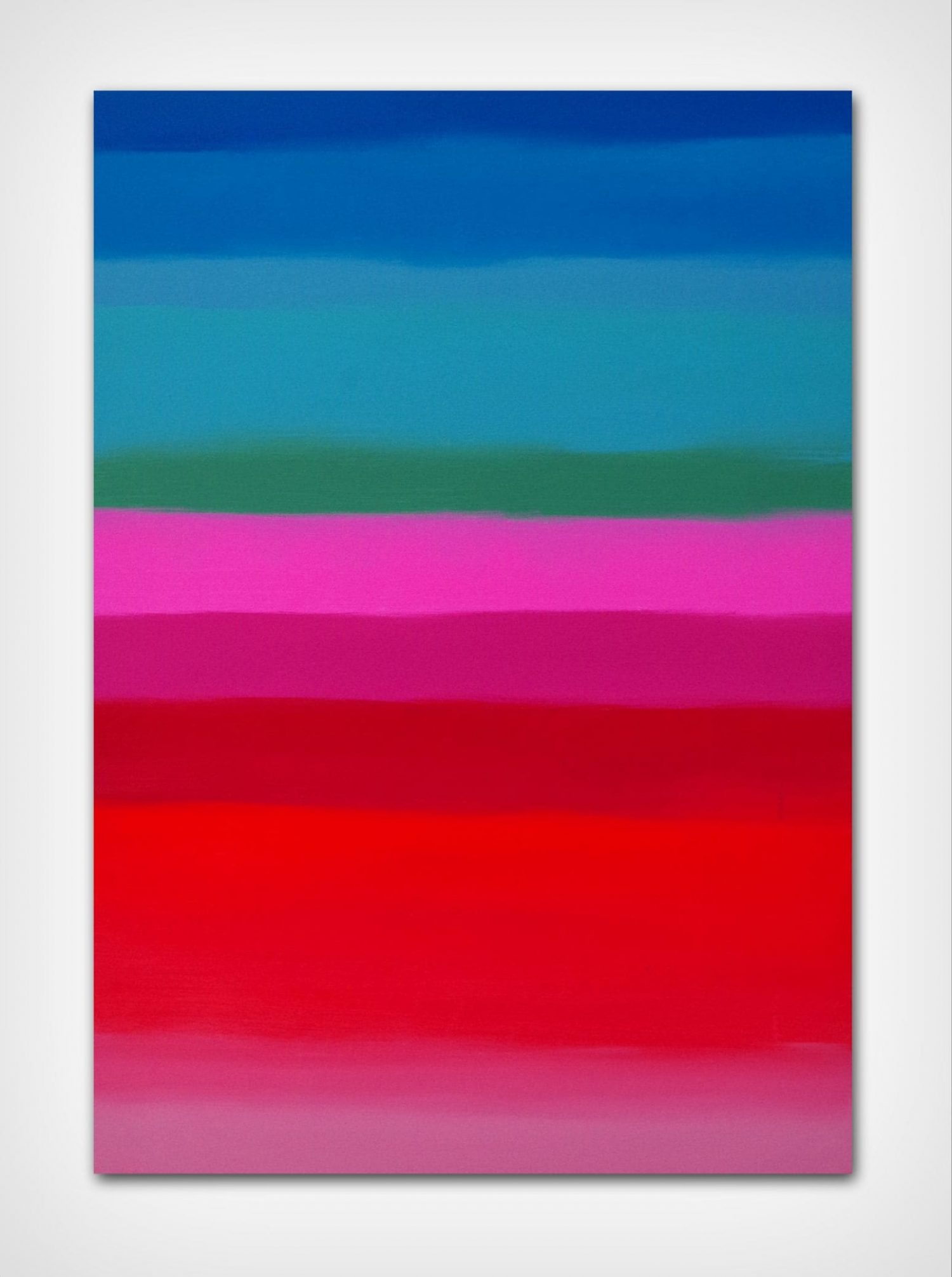Did you see my rainbow, quadro astratto in vendita online