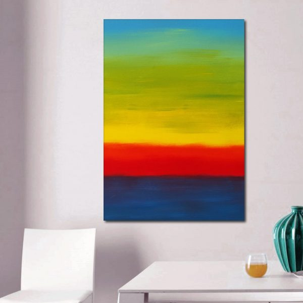 Here Comes The Sun quadro astratto in vendita online