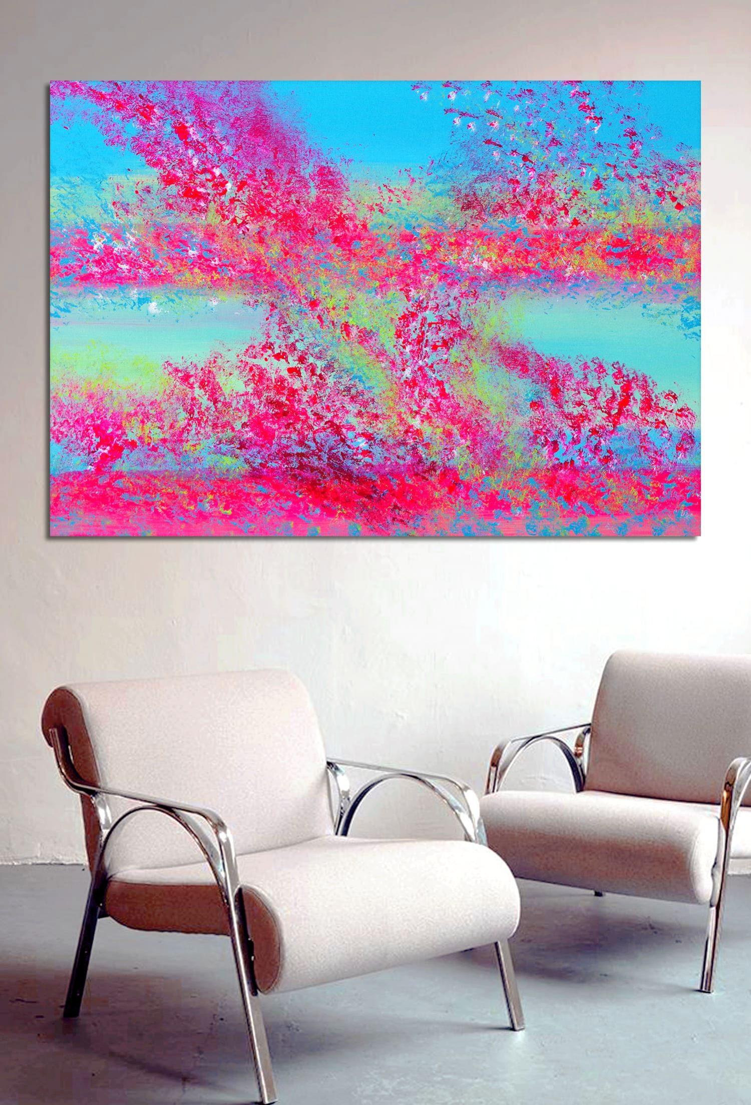 Spring colors quadro astratto in vendita online