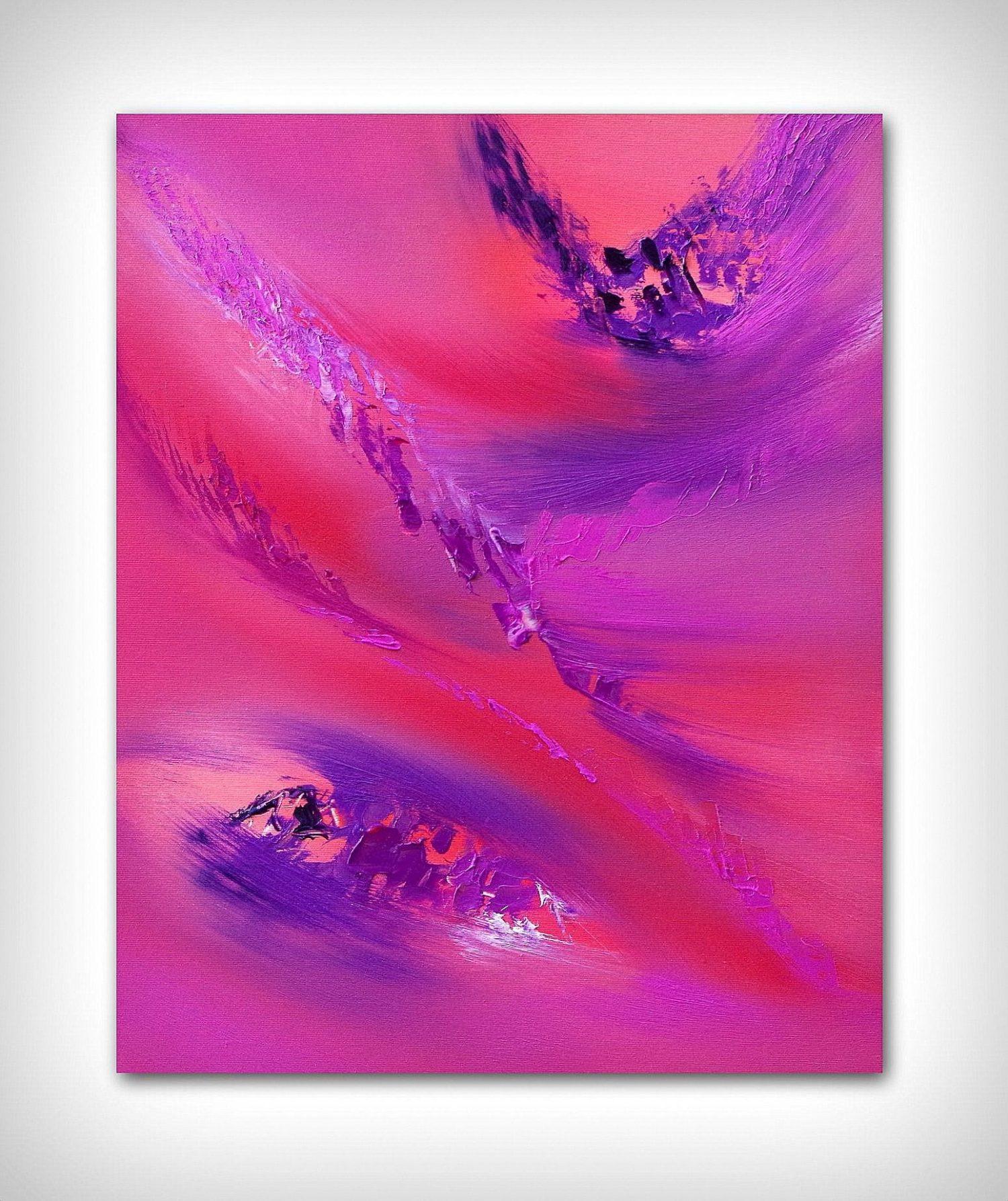 flowers 40X50 olio su tela quadro moderno