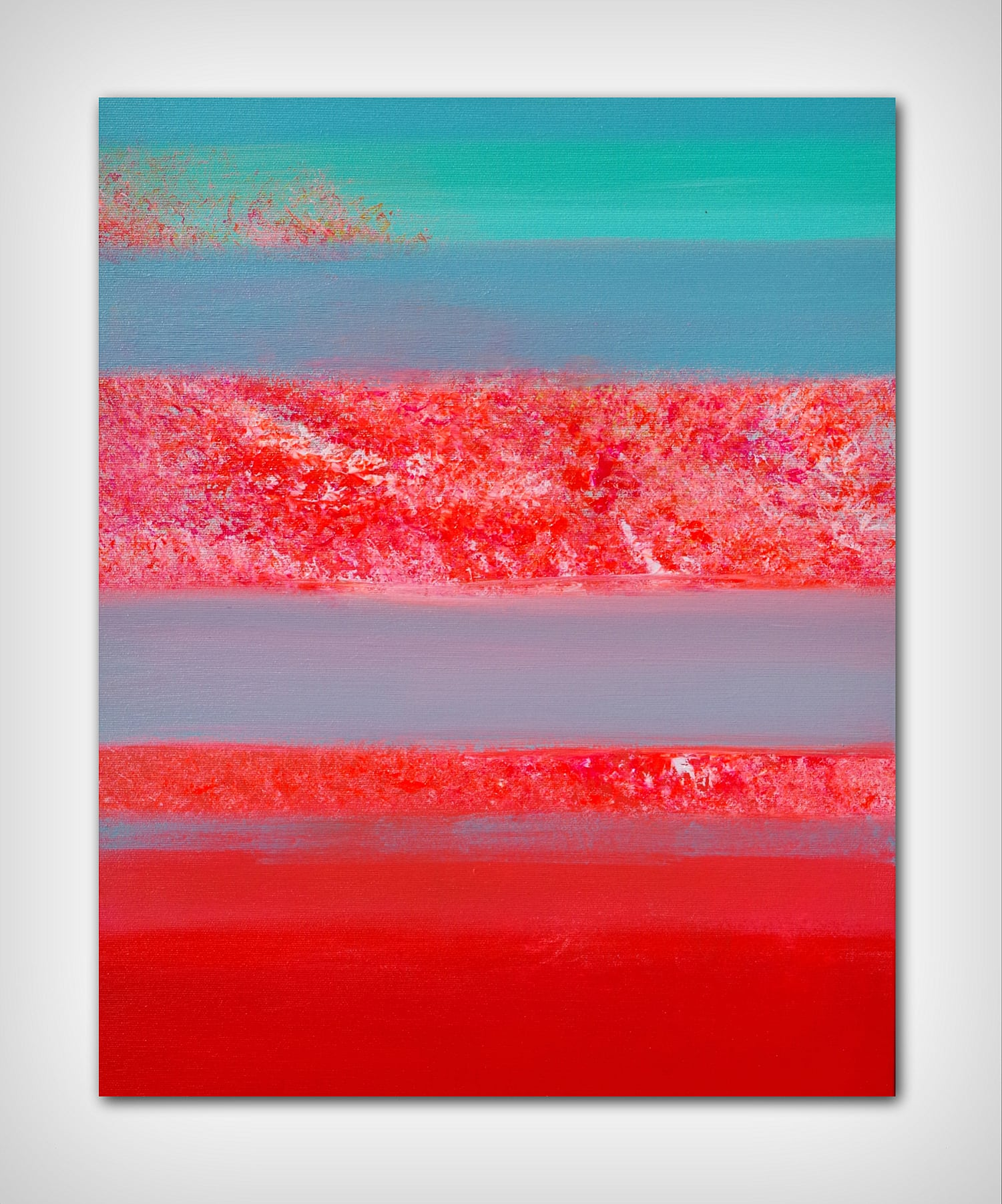Horizons, 1 40×50 acrylic_quadro astratto in vendita online