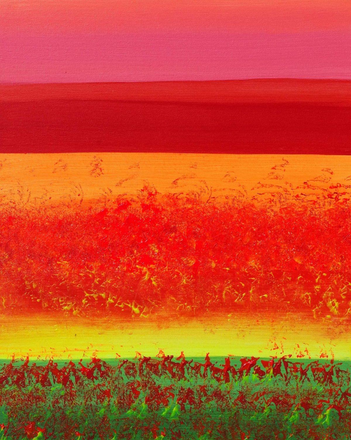 Horizons, 2 40x50 acrylic_quadro astratto in vendita online