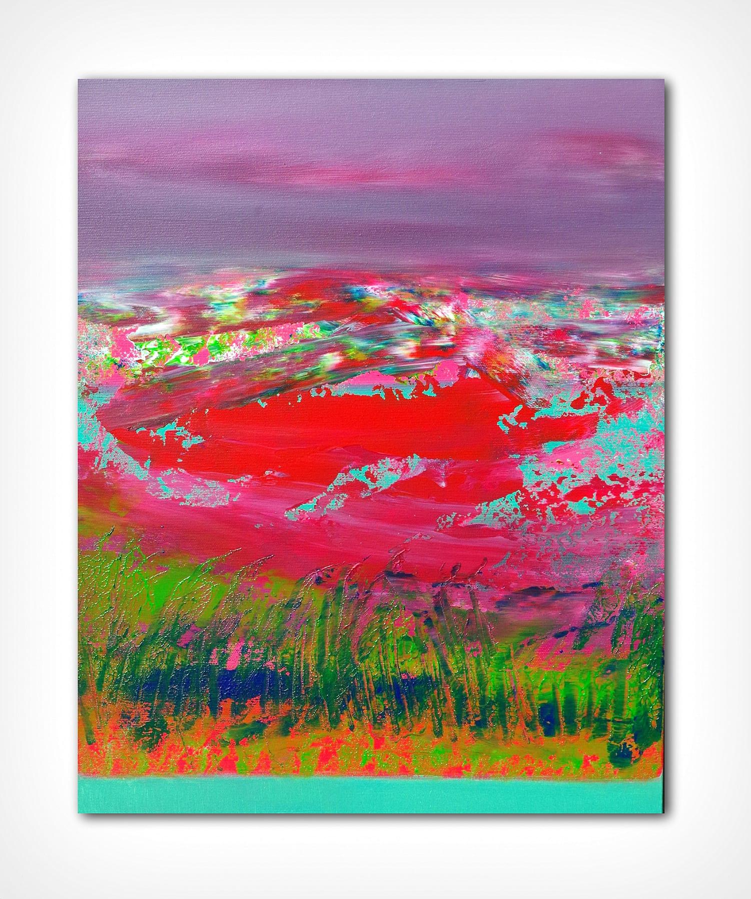 Horizons, 3 40×50 acrylic_quadro astratto in vendita online