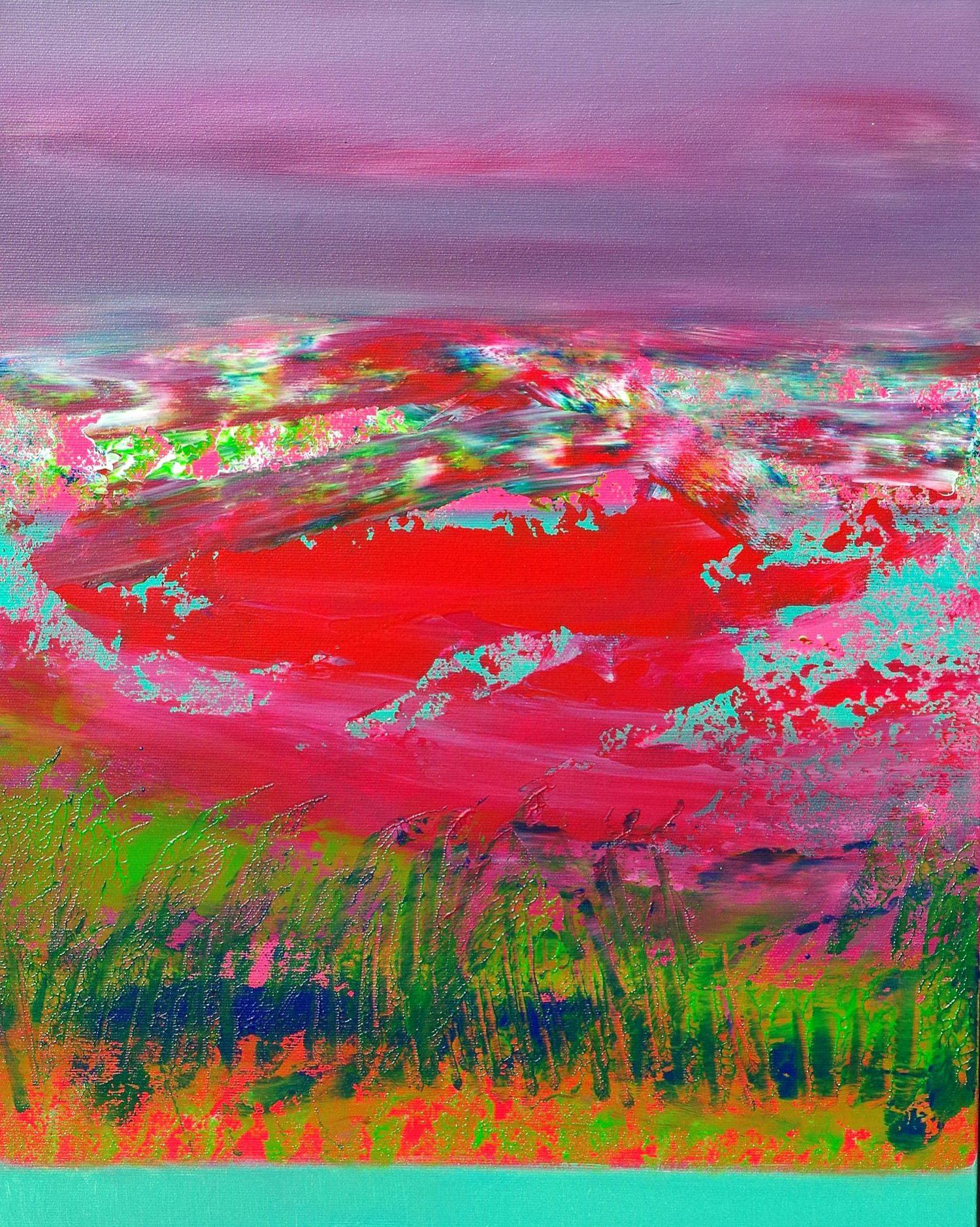 Horizons, 3 40x50 acrylic_quadro astratto in vendita online