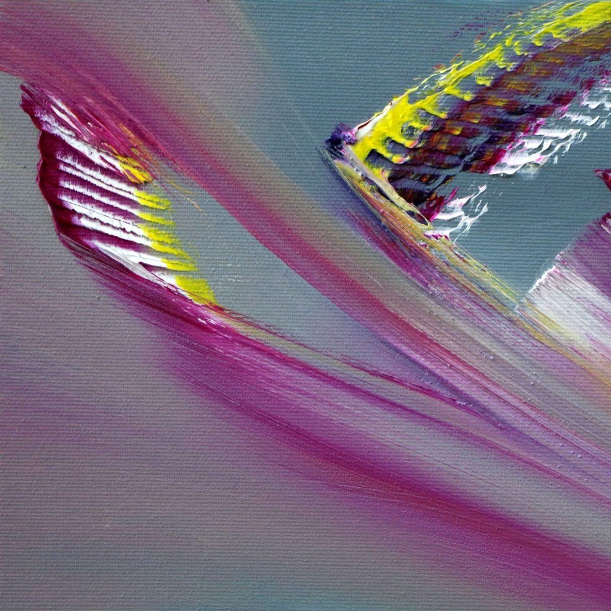 Just colors olio su tela quadro moderno