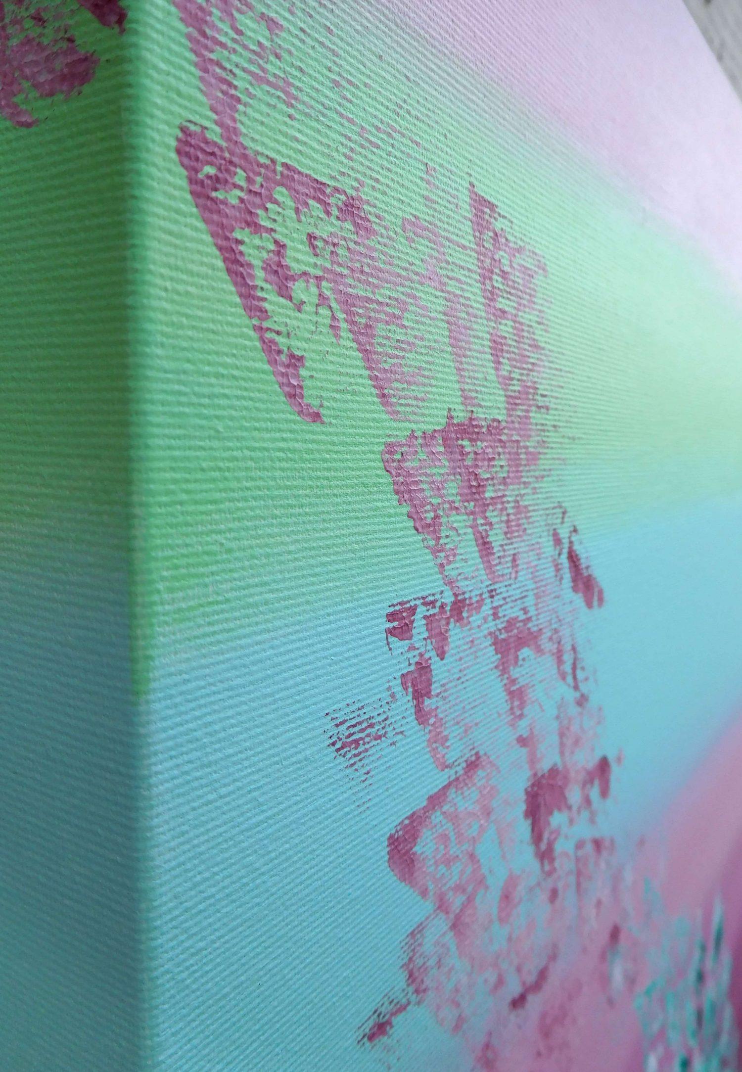Feeling 40x50 acrilico quadro astratto in vendita online