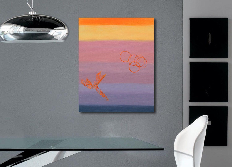 Lucy 40x50 acrilico quadro astratto in vendita online
