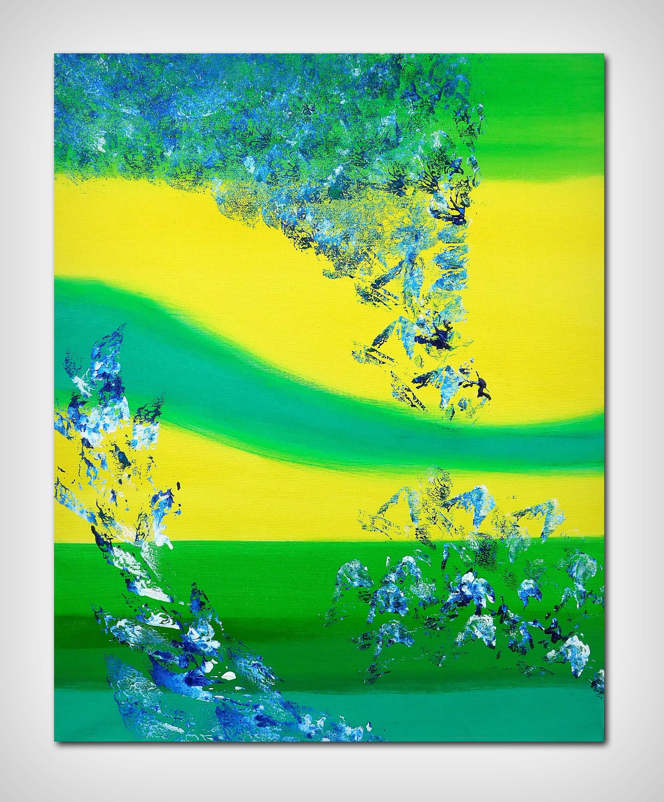 Vivid, 40×50 acrilico quadro astratto in vendita online