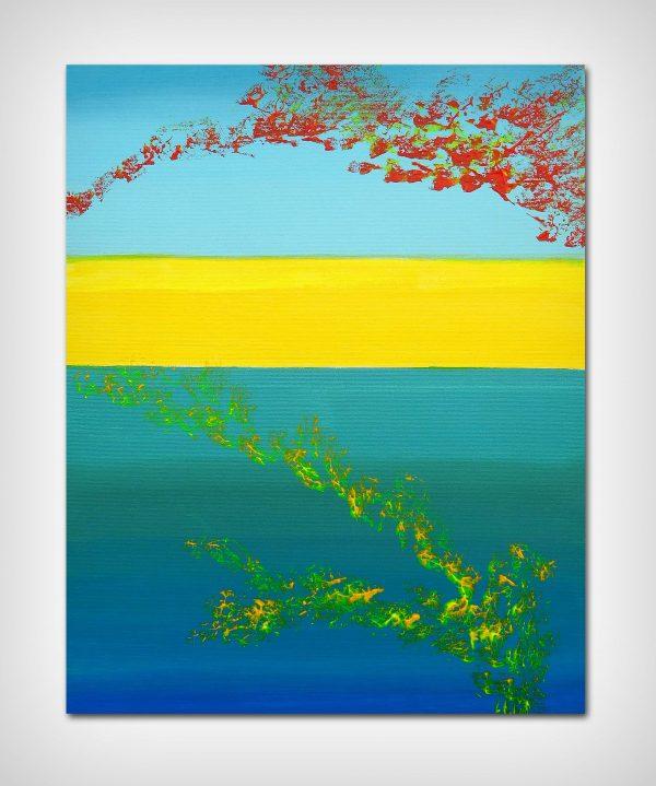Horizons, 4 40x50 acrylic_quadro astratto in vendita online