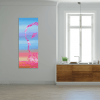 Spring coming II 40x100 quadro astratto in vendita online