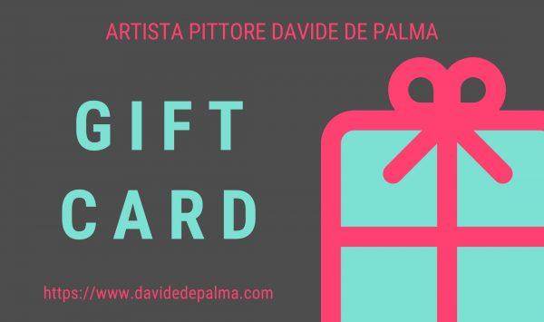 Gift Card regala un opera d'arte