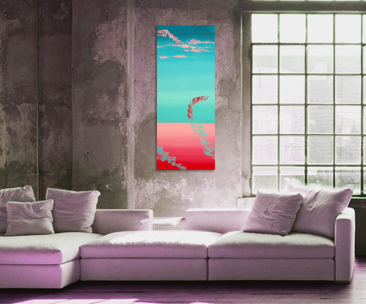 "Dipinto contemporaneo originale ""Tranquillity"""