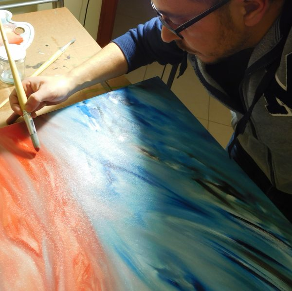 modern abstract paintings - Artist Painter Davide De Palma