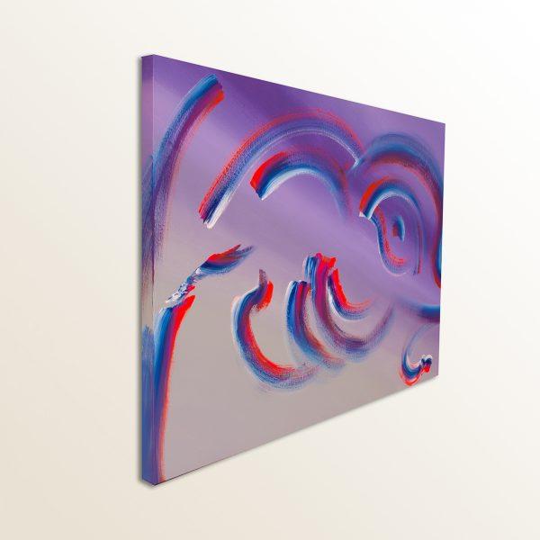 Dipinto originale contemporaneo Infinite turnaround 100x70