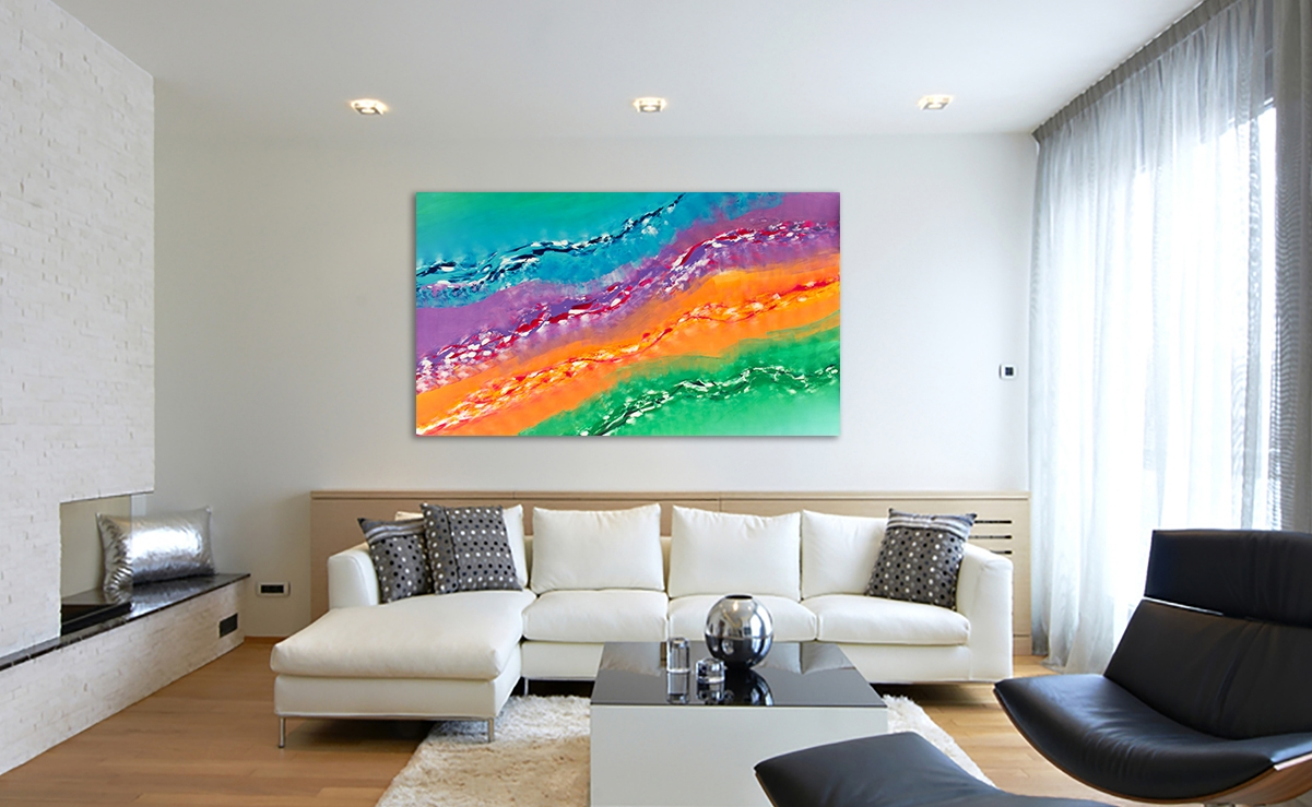 Quadro originale extra large suggestion 200x115 cm