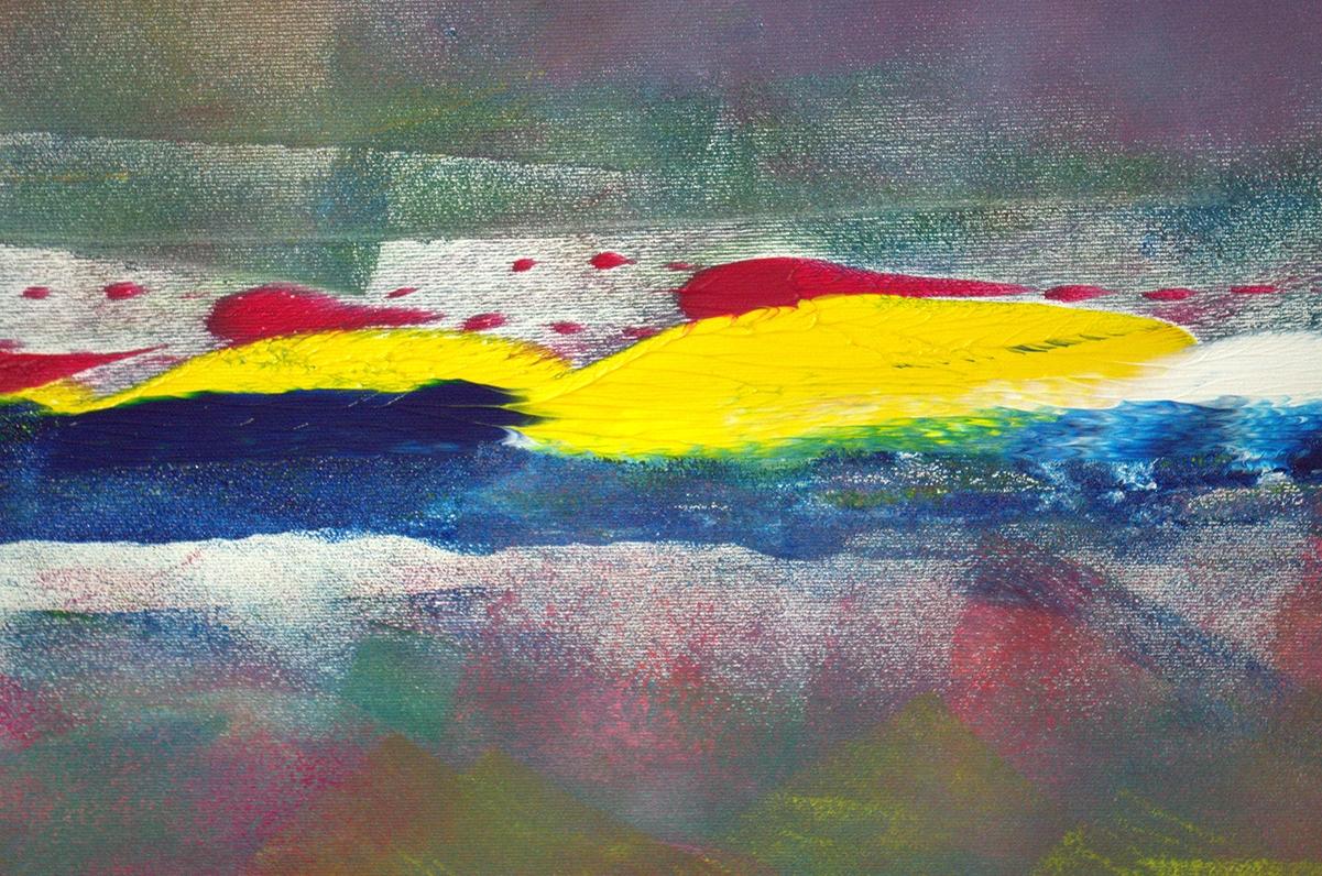 Dipinto di grande dimensione surprised 200x110 cm