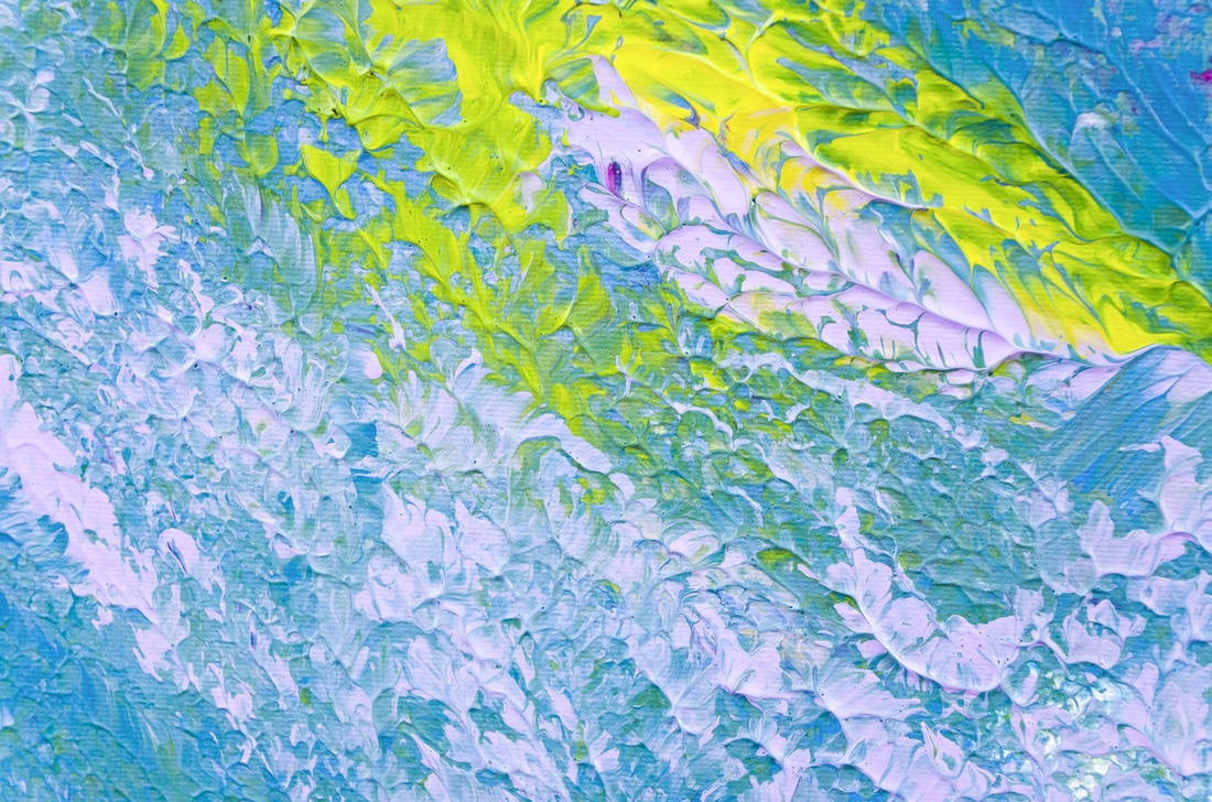 """Opera impressionista contemporanea """"Impressioni di settembre"""" 100x50 cm"""
