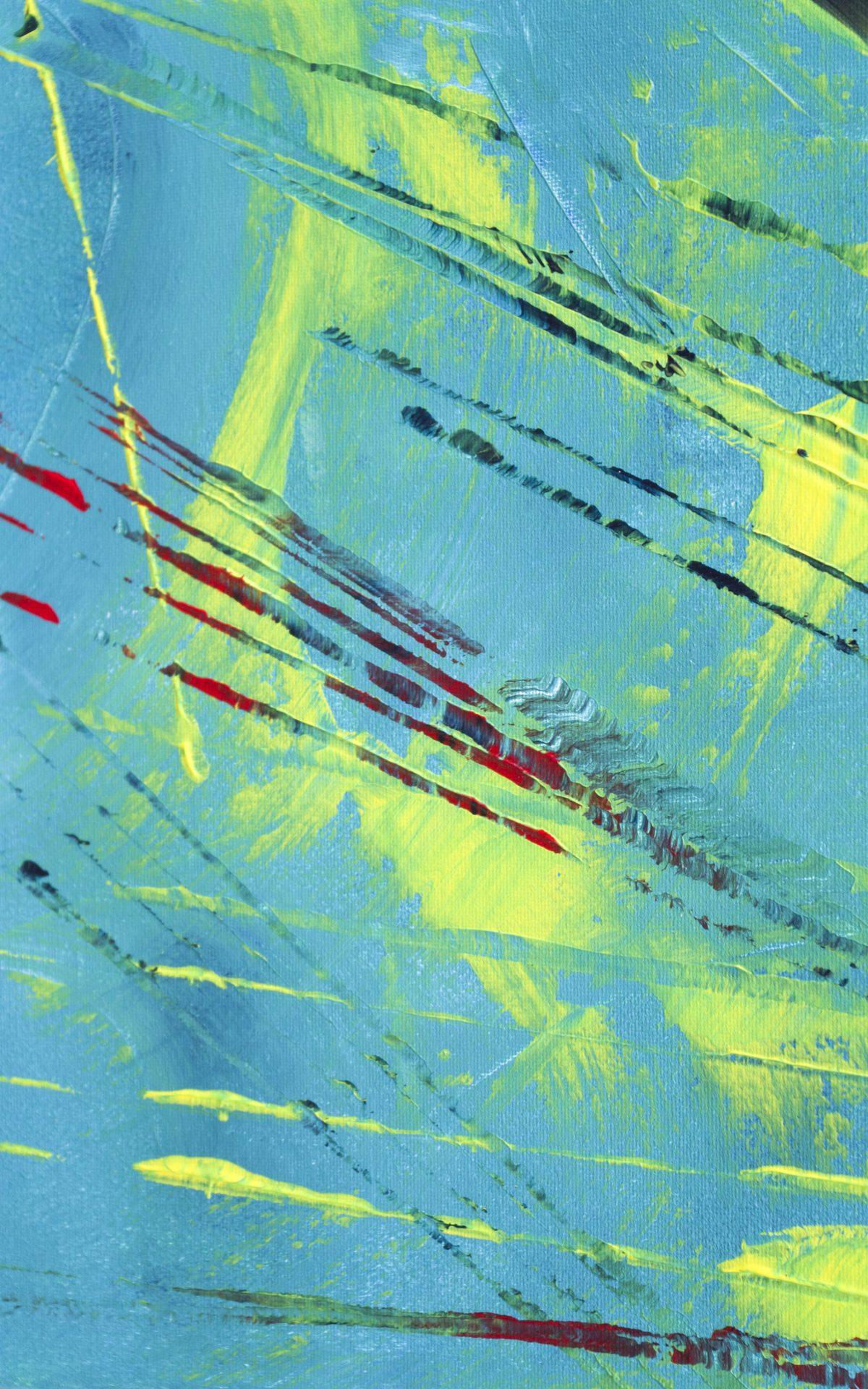 """Quadro espressionista astratto """"Exploitation"""" 100x50 cm"""