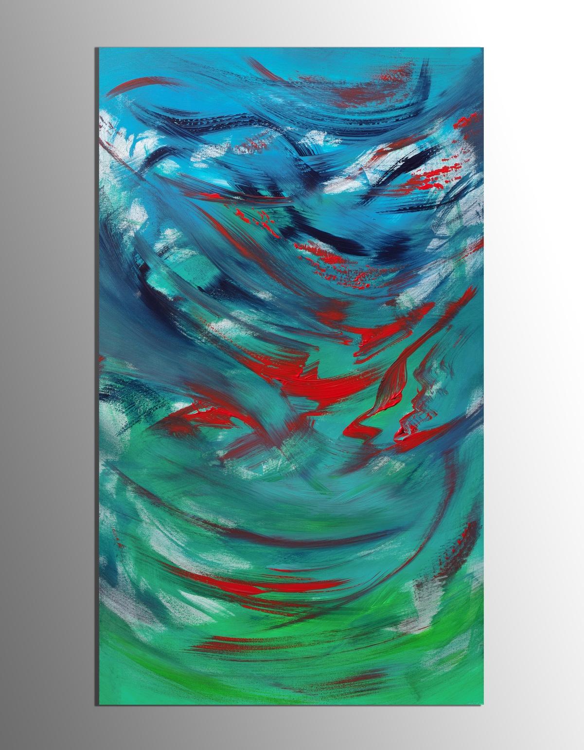 """Quadro ispirato dal cielo """"Nowness """" 60x100 cm"""